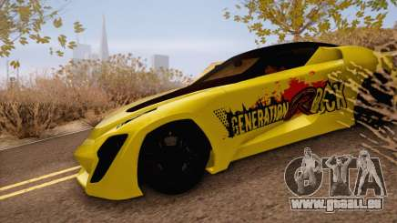 Bertone Mantide 2010 Rock Generation für GTA San Andreas