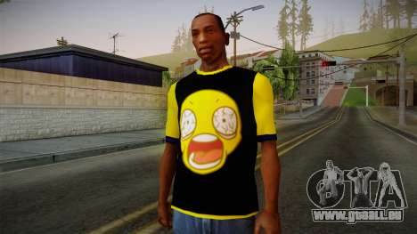 Nirvana Swag Shirt pour GTA San Andreas