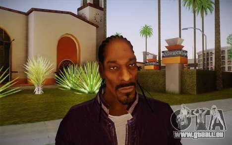 Snoop Dogg Skin für GTA San Andreas dritten Screenshot