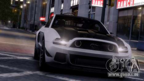 Ford Mustang GT 2014 Custom Kit für GTA 4 Innen