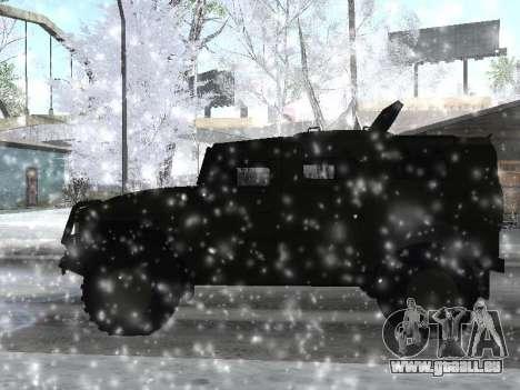 GAZ 2975 Tigre pour GTA San Andreas laissé vue