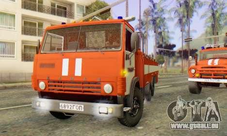 KamAZ 53212 AP-5 [FIV] pour GTA San Andreas laissé vue