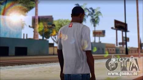 Element T-Shirt für GTA San Andreas zweiten Screenshot