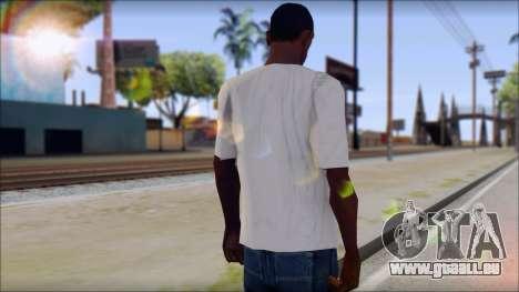 Pink Panther T-Shirt Mod pour GTA San Andreas deuxième écran