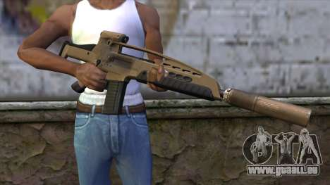 XM8 Assault Dust für GTA San Andreas dritten Screenshot