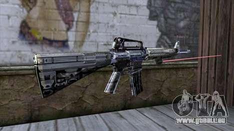M4A1 mit laser-Augen für GTA San Andreas zweiten Screenshot