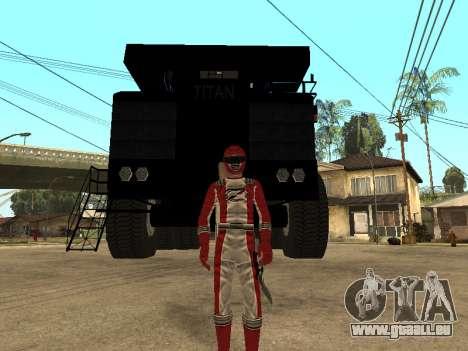 Power Rangers Operation Overdrive für GTA San Andreas