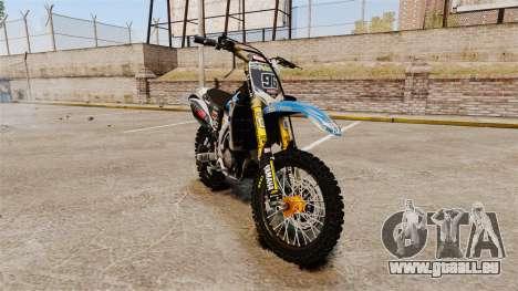 Yamaha YZF-450 v1.4 für GTA 4