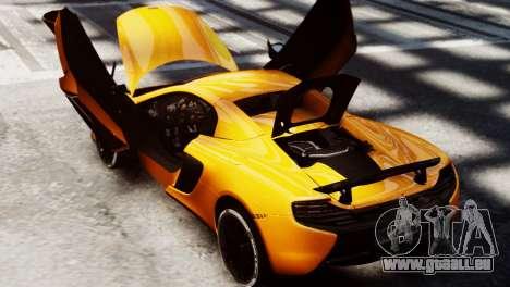 McLaren 650S Spider 2014 für GTA 4 rechte Ansicht
