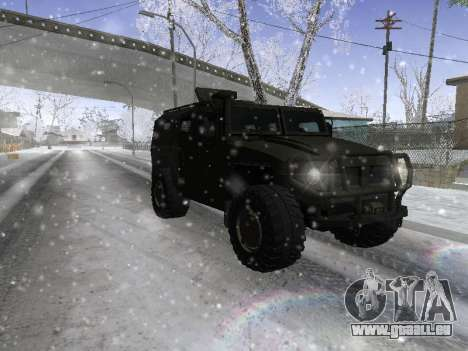 GAZ 2975 Tigre pour GTA San Andreas