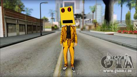 Robot Head LMFAO für GTA San Andreas