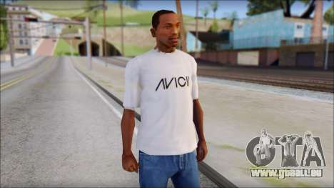 Avicii Fan T-Shirt für GTA San Andreas