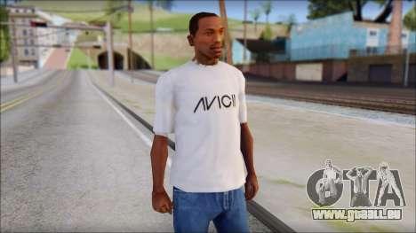 Avicii Fan T-Shirt pour GTA San Andreas