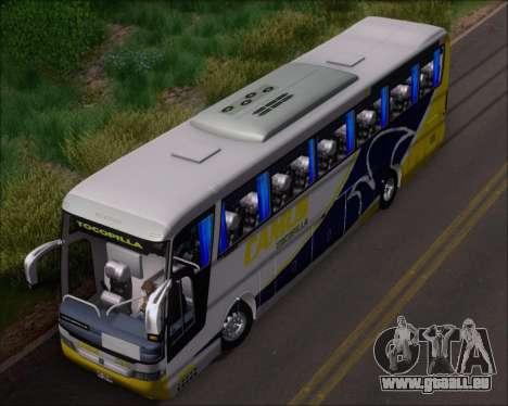 Busscar Vissta Buss LO Mercedes Benz 0-500RS für GTA San Andreas Seitenansicht