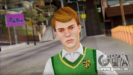 Earnest from Bully Scholarship Edition pour GTA San Andreas