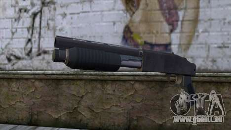Sawnoff Shotgun from GTA 5 v2 pour GTA San Andreas
