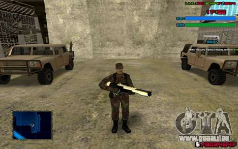 C-HUD by SampHack v.7 für GTA San Andreas dritten Screenshot