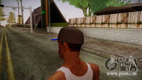Storm Freerun Cap für GTA San Andreas zweiten Screenshot
