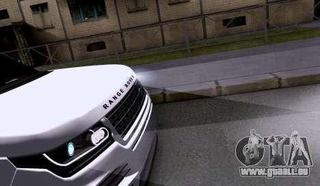Land Rover Range Rover Startech pour GTA San Andreas vue arrière
