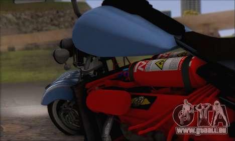 Boss Hoss v8 8200cc für GTA San Andreas Rückansicht