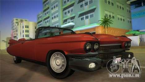 Cadillac Eldorado pour GTA Vice City