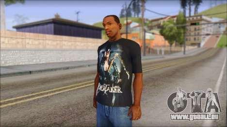Undertaker T-Shirt v2 pour GTA San Andreas