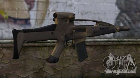 XM8 Assault Dust für GTA San Andreas zweiten Screenshot