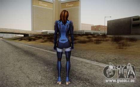 Ashley from Mass Effect 3 für GTA San Andreas zweiten Screenshot
