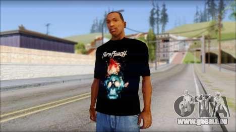 Papa Roach The Connection Fan T-Shirt pour GTA San Andreas