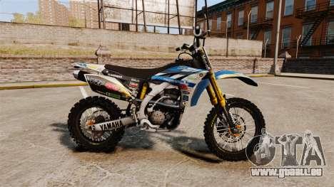 Yamaha YZF-450 v1.4 für GTA 4 linke Ansicht