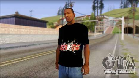 Destroyers T-Shirt Mod für GTA San Andreas