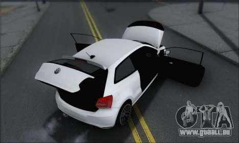 Volkswagen Polo pour GTA San Andreas salon