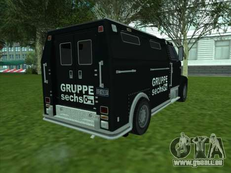Securicar из GTA 3 für GTA San Andreas rechten Ansicht
