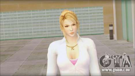 Sarah from Dead or Alive 5 v1 pour GTA San Andreas troisième écran