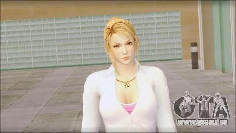 Sarah from Dead or Alive 5 v1 für GTA San Andreas dritten Screenshot