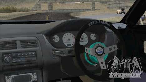 Toyota Chaser Tourer Stock v1 1999 pour GTA San Andreas sur la vue arrière gauche