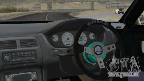 Toyota Chaser Tourer Stock v1 1999 für GTA San Andreas zurück linke Ansicht