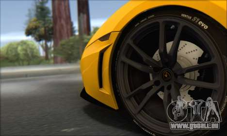 Lamborghini Gallardo LP570 Superleggera pour GTA San Andreas
