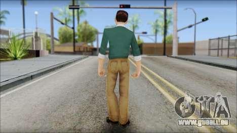 Constantinos from Bully Scholarship Edition pour GTA San Andreas troisième écran