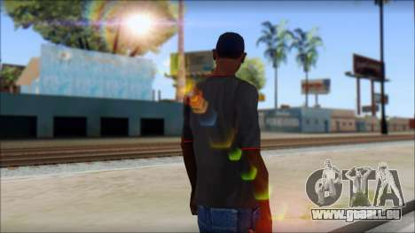 I love my gun T-Shirt für GTA San Andreas zweiten Screenshot