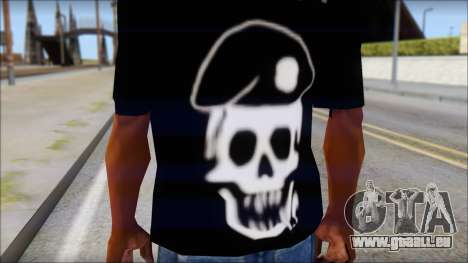 The Expendables Fan T-Shirt v1 für GTA San Andreas dritten Screenshot