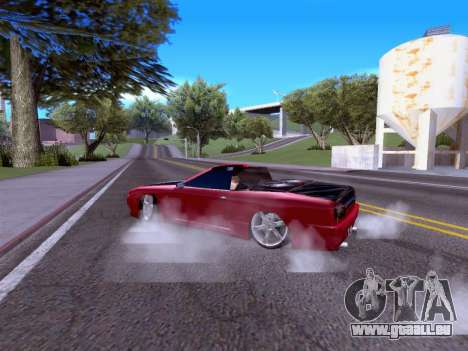 Elegy Cabrio HD pour GTA San Andreas vue de droite