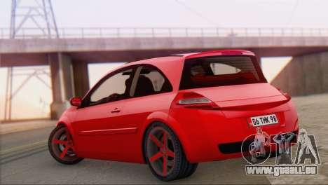 Renault Megane II HatchBack für GTA San Andreas linke Ansicht