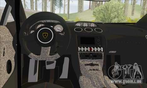 Lamborghini Gallardo LP570 Superleggera für GTA San Andreas