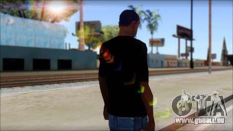 Max Cavalera T-Shirt v2 pour GTA San Andreas deuxième écran