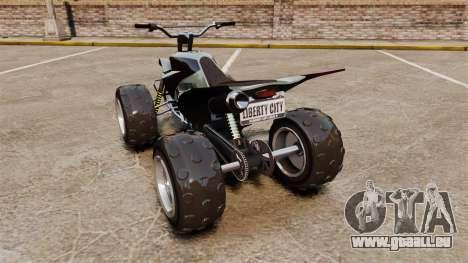 GTA V Nagasaki Blazer v2 pour GTA 4 Vue arrière de la gauche