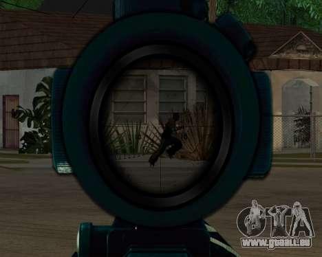 Sniper skope mod für GTA San Andreas