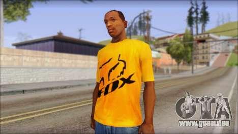 Cj Fox T-Shirt für GTA San Andreas