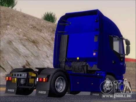 Iveco Stralis HiWay 560 e6 4x2 pour GTA San Andreas vue arrière