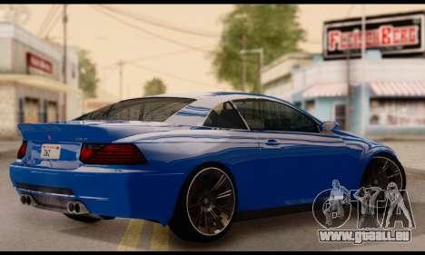 Ubermacht Zion XS 1.0 für GTA San Andreas linke Ansicht